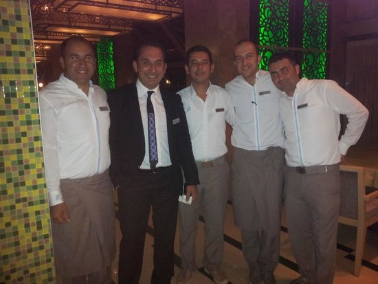 Hilton Dalaman Sarigerme Resort & Spa : Italian Restaurant Turgay & his team