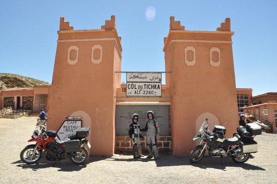 Maison D'hôtes Restaurant Chez L'Habitant Amazigh : super Ausgangspunkt für Motorradtouren
