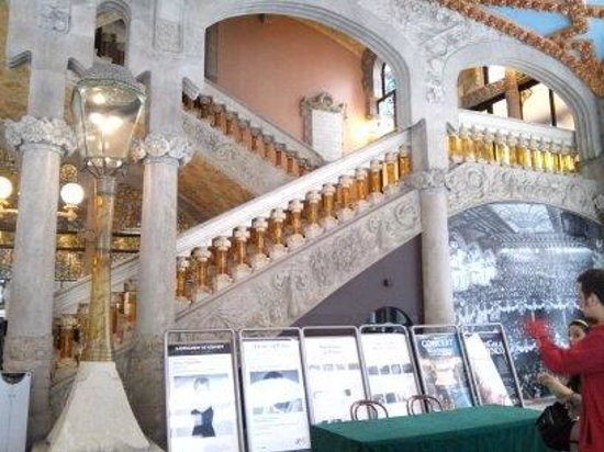 Palais de la Musique Catalane (Palau de la Musica Catalana) : Красота