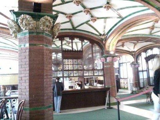 Palau de la Musica Orfeo Catala: Холл