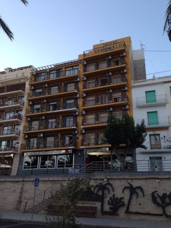 Esmeralda Beach Hotel : View from the paseo