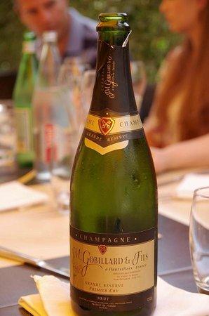 La Banque : champagne