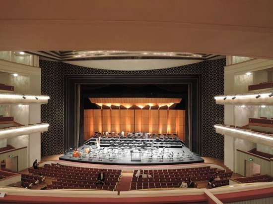 Teatr Wielki - Polish National Opera: The stage at the Warsaw Opera House