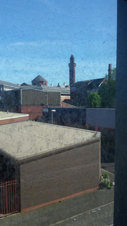 Travelodge Manchester Central Arena : View of the prison from our room