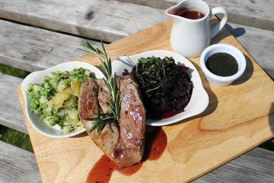 Larkstone Family Restaurant and Leisure Park: Sunday Lunch Lamb steak platter