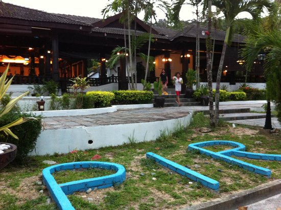 Perhentian Island Resort : In front the lobby