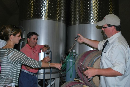 Holman Ranch: Barrel tasting with Nick