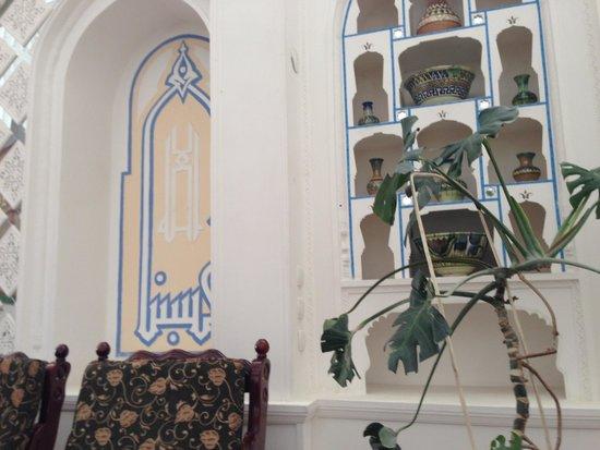 Siyavush Hotel: Main lobby