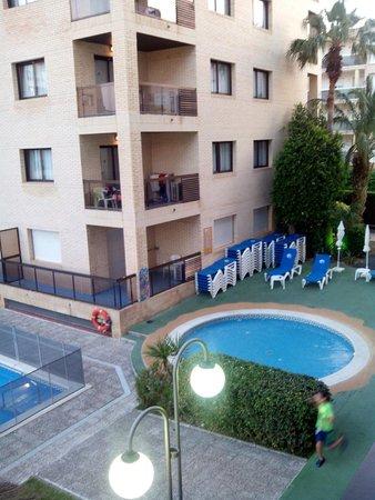 Aparthotel Olimar II: Piscina pequeña