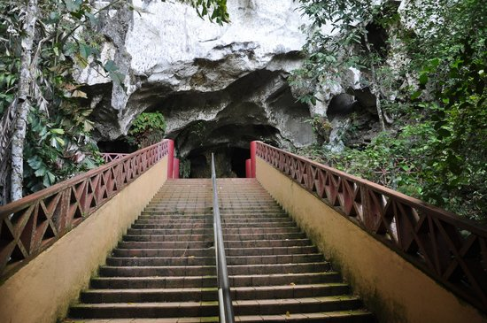 Fairy Caves: Last Flight of Steps to Cave Entrance