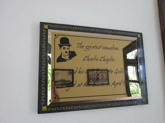 Hotel Saigon Morin: Charlie Chaplin stayed here
