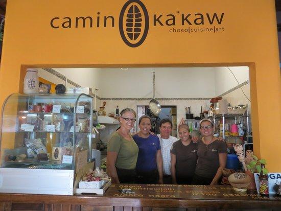 Camino Ka'kaw: Friendly Kakaw staff
