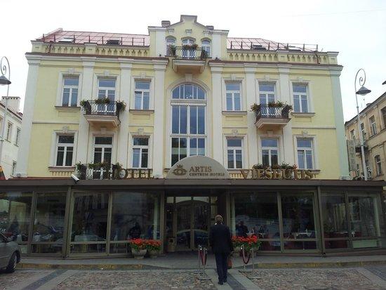 Artis Centrum Hotels : Фасад