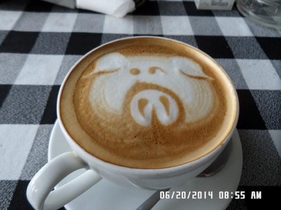 Tootsie Bar: beutifull coffee