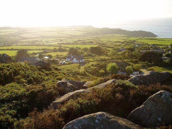 Garn Fach: From the hillside