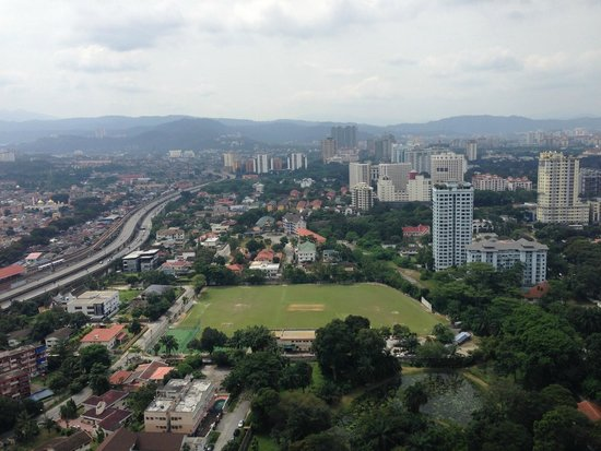 DoubleTree by Hilton Kuala Lumpur: View from balcony of bridal suite