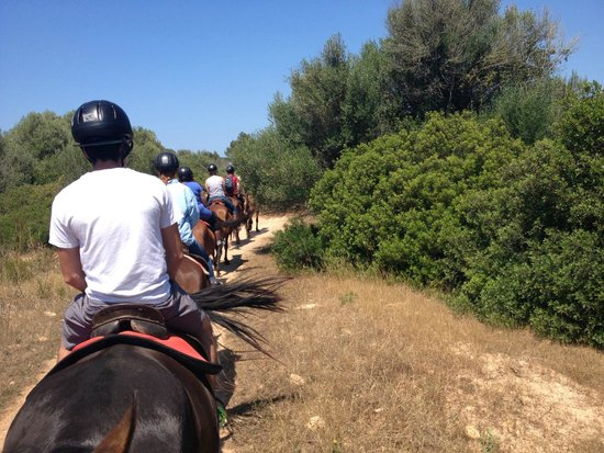 Rancho Grande Park: riding in line