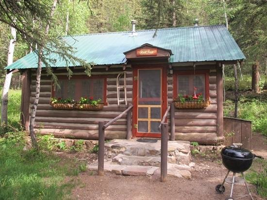 Pioneer Guest Cabins: Red Fox cabin...perfect!