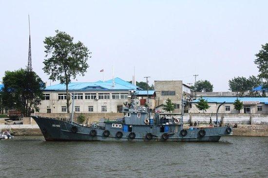 China and North Korea Friendship Bridge: Dandong Yalu River - North Korea