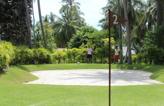 Samui Football Golf Club: Hole 2