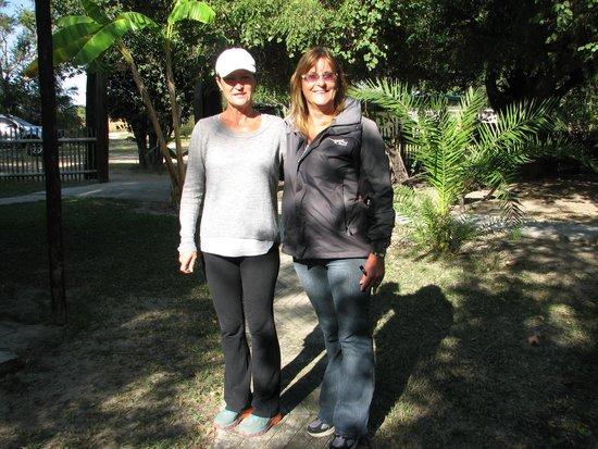 Kalizo Lodge: Olga & Cherie