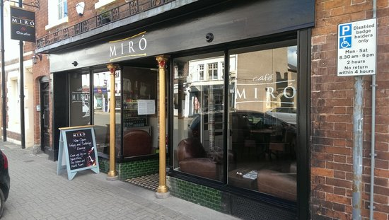 Cafe Miro: great location