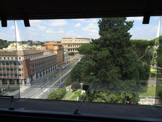 Mercure Rome Colosseum Centre : Vue