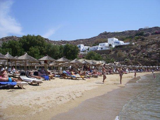 Mykonos Kosmoplaz: super paradise beach