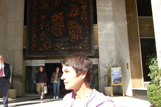 Hotel Casa Blanca Mexico City: на входе