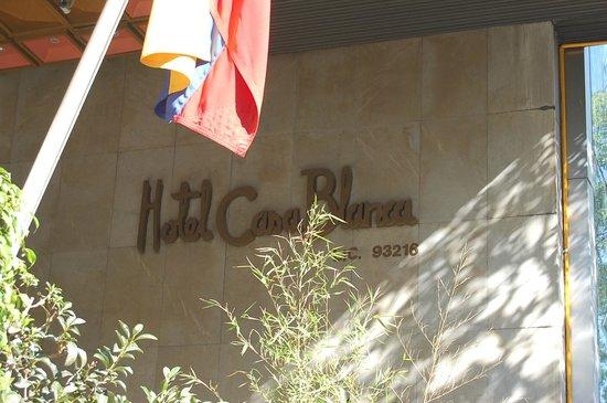 Hotel Casa Blanca Mexico City: на улице