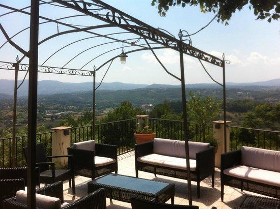 Lou Fassum: vue de la terrasse