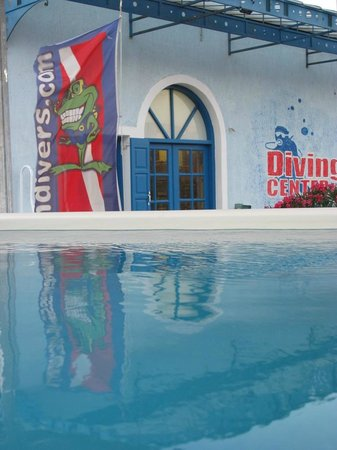 Aegean Divers Dive Center - Day Excursions: Swimming pool view