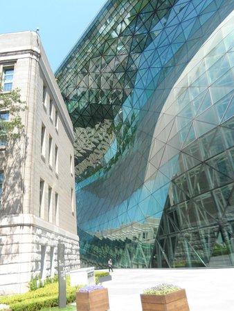 City Hall , 5 minutes walk from Metro Hotel
