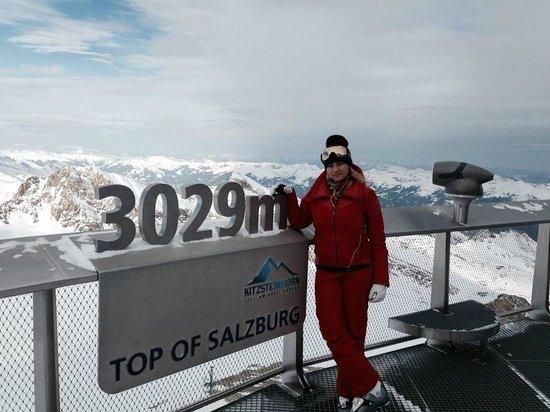 Kitzsteinhorn : 3029m