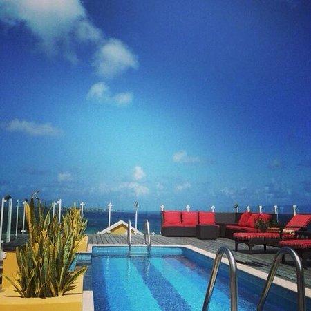Ocean Two Resort & Residences: Rooftop pool