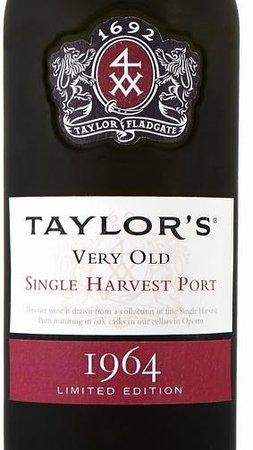 Taylor's Port : Taylor's 1964