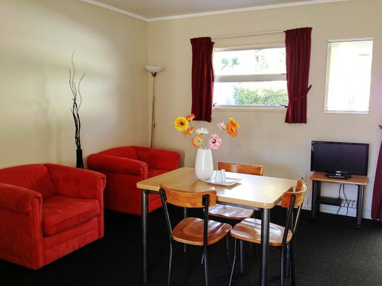 Ann's Volcanic Rotorua Motel and Serviced Apartments : Dinning room