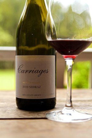 Carriages Boutique Hotel & Vineyard: Their own boutique wine