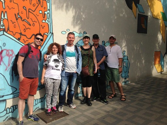 Alternative Prague Tours : Tomas is the guy on the left