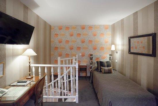 Hôtel Jardin Le Bréa : Chambre Single Classique / Classic Single Room