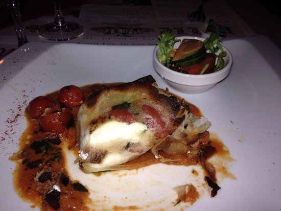 Le Volle Gas: Goat cheese appetizer