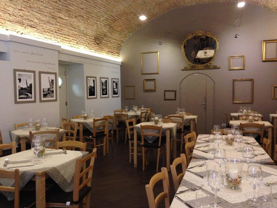 Osteria del Gusto: Très belle décoration