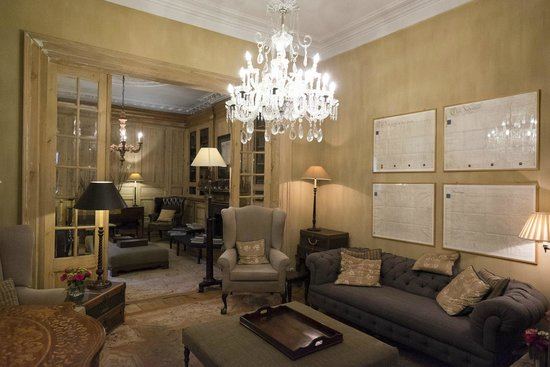 Salon picture of pand hotel small luxury hotel bruges for Small luxury inns