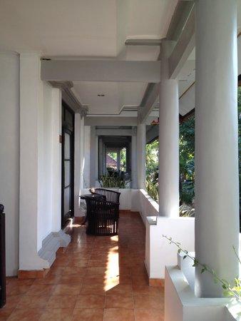 Puri Saron Seminyak : The balcony
