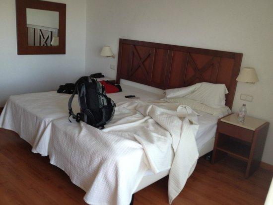 Hotel TRH Paraiso Costa del Sol: Das etwas sehr harte Bett