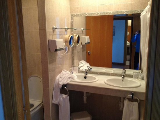 Hotel TRH Paraiso Costa del Sol : Das Bad