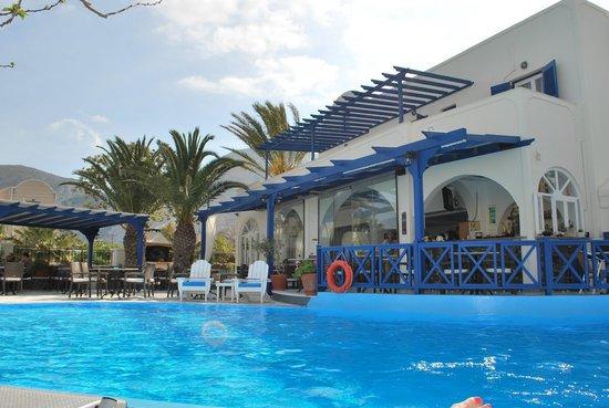 Hermes Hotel : Santorini Mai 2014