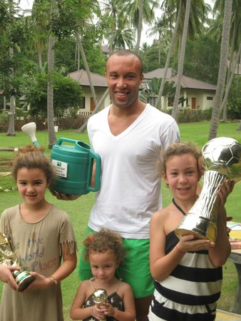 Samui Football Golf Club: Mikael Silvestre (France and Man Utd)