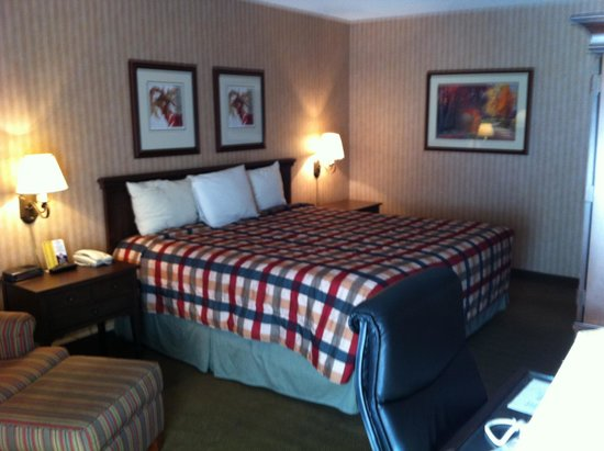 Howard Johnson Plaza Yakima/Near Convention Center: The room was ok
