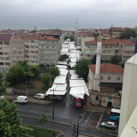 Ramada Istanbul Old City: Restaurant view's